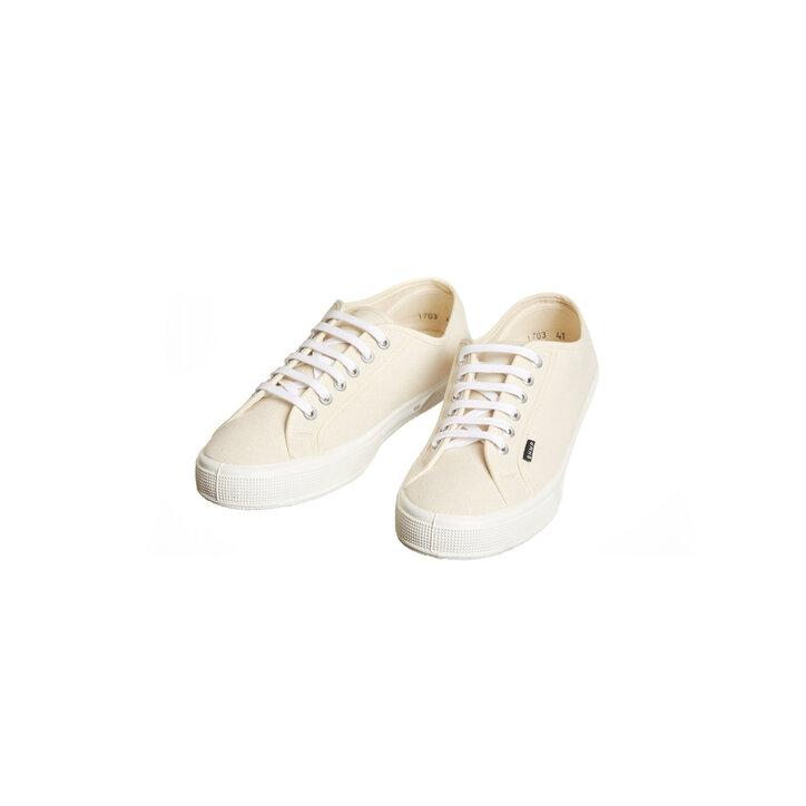 2151ded77 Pánske plátené konopné tenisky prírodná biela | Dedoles