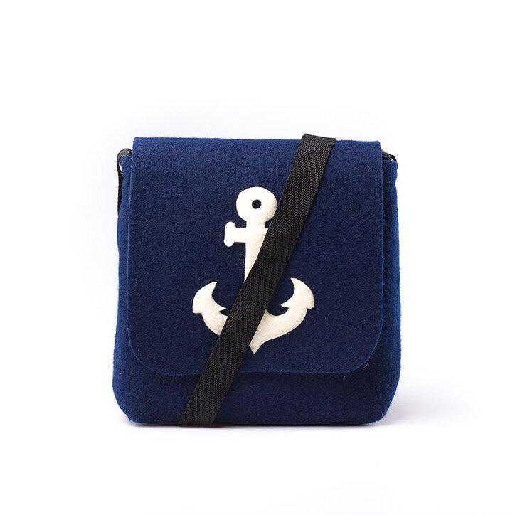 riesige Auswahl an spottbillig Offizielle Website Handtasche Magnet - Blauer Anker