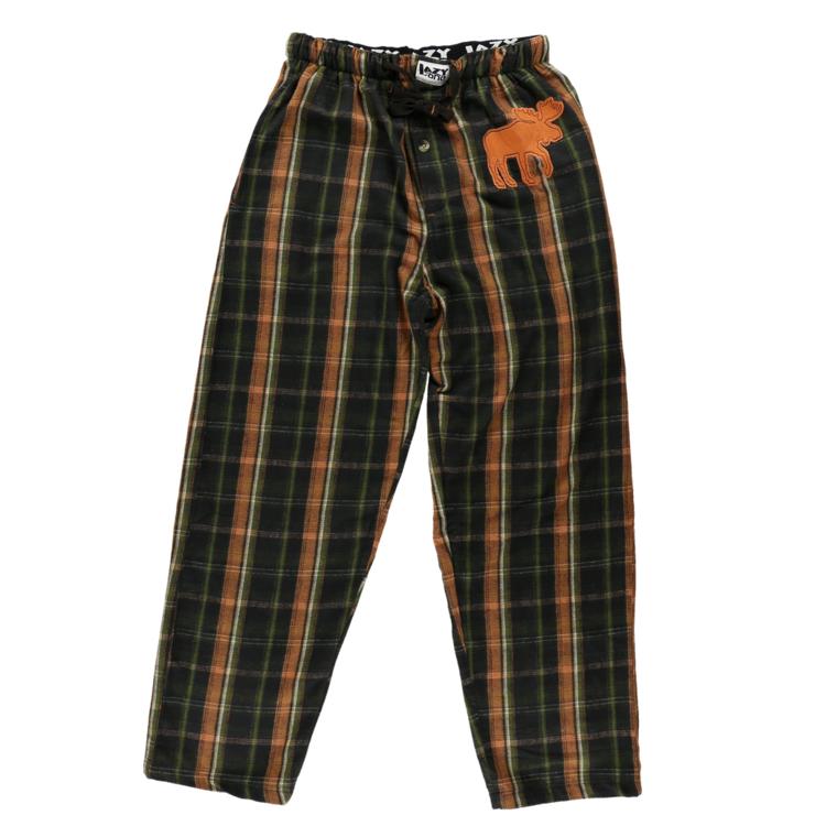 farblich passend Genieße den kostenlosen Versand großer Rabatt Herren Pyjamahose Flanell Elch | Dedoles
