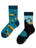 Kids' Socks Excavator