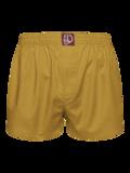 Musztardowo żółte szorty męskie
