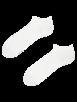 White Bamboo Ankle Socks