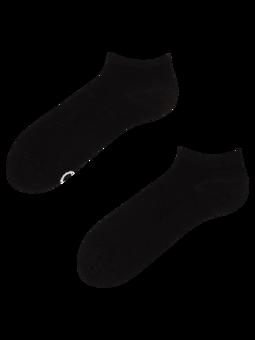 Črne bambusove kratke nogavice
