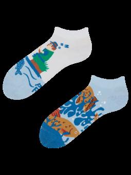 Veselé kotníkové ponožky Rybolov