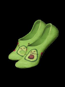 No Show Socks Avocado Love