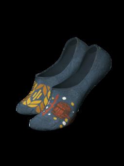 Lustige No-Show-Socken Bierzeit