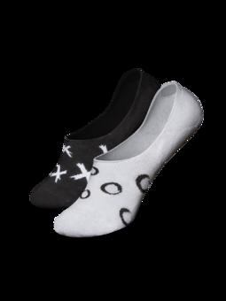 Vrolijke no show sokken Tic-tac-toe