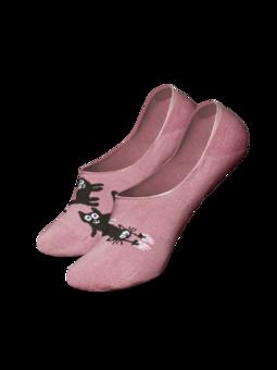 Veselé ťapky Růžové kočky
