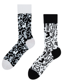 Eco Friendly Socks Doodles