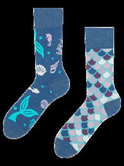 Весели еко чорапи Русалка