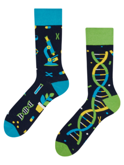Chaussettes rigolotes ADN