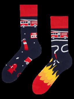 Vrolijke sokken Brandweermannen
