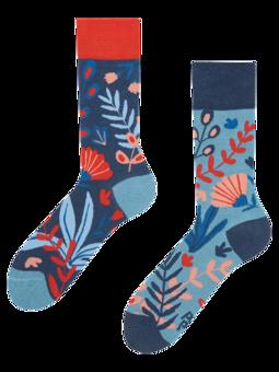 Veselé bambusové ponožky Koral