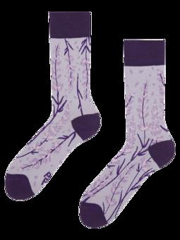 Весели бамбукови чорапи Лавандула