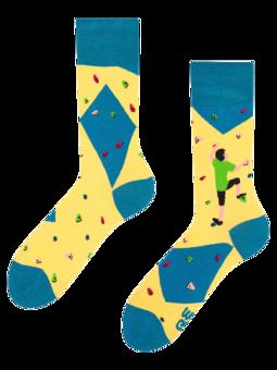 Veselé ponožky Bouldering