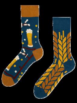 Chaussettes rigolotes Temps pour la bière