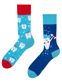 Regular Socks Clean Teeth