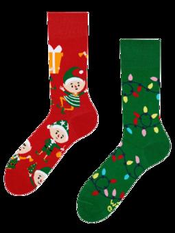Chaussettes rigolotes Elfes