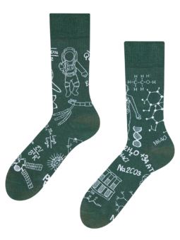 Regular Socks Physics vs. Chemistry