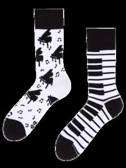 Vrolijke sokken Piano