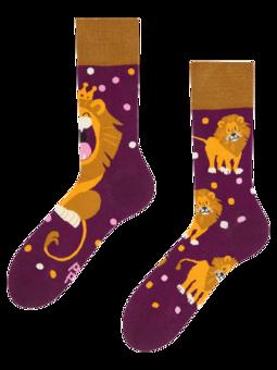 Regular Socks King of the Jungle