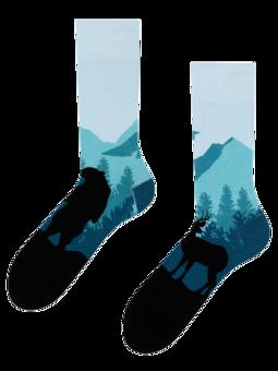 Lustige Socken Wald