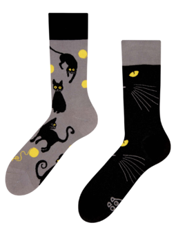 Chaussettes rigolotes Chats