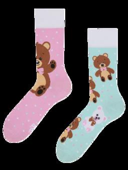 Vrolijke sokken Teddybeer