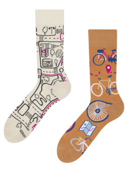 Regular Socks City Bike