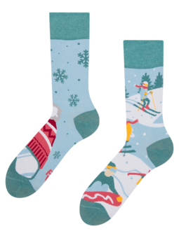 Regular Socks Ski Slopes