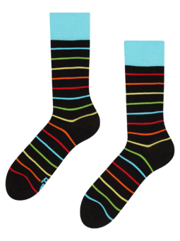 Vrolijke sokken Neonstrepen