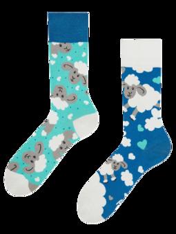 Veselé ponožky Ovečky a obláčky