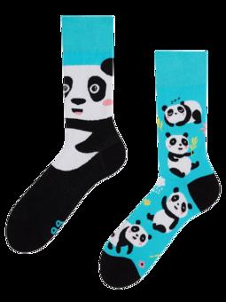 Živahne nogavice Panda