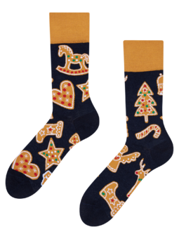 Regular Socks Gingerbread Cookies