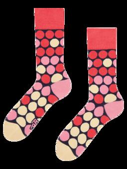 Regular Socks Pink Beehive