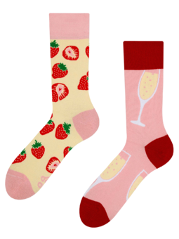 Regular Socks Champagne & Strawberry