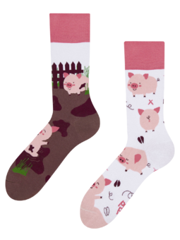 Regular Socks Happy Pigs