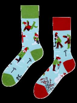 Lustige Socken Winter