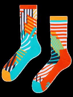 Sport Socks Dynamic Stripes