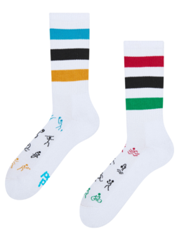 Živahne športne nogavice Olimpijada