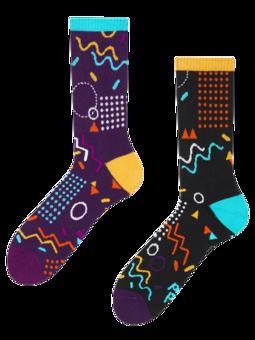 Весели спортни чорапи Ретро геометрия