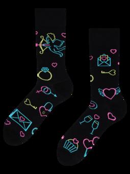 Regular Socks Neon Love