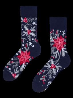 Veselé ponožky Vánoční ornament