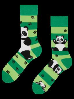 Calzini Buonumore Panda e Righe