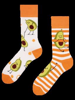 Весели чорапи Забавно авокадо