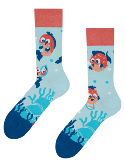Vrolijke sokken Vrolijke vis