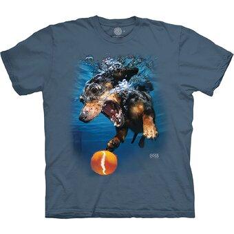 Tričko Pes ve vodě