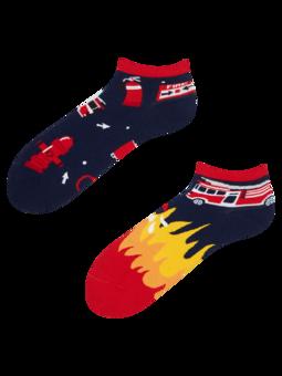 Veselé kotníkové ponožky Hasič