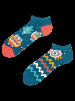Veselé kotníkové ponožky Moudrá sova
