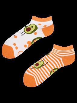 Členkové veselé ponožky Vtipné avokádo